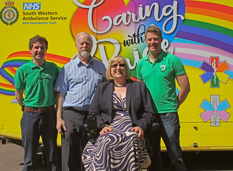 Ex 999 Call Handler Gillian Meets Lifesavers after Cardiac Arrest