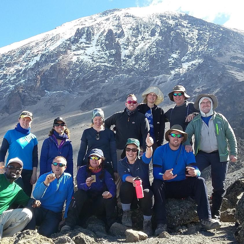 Kilimanjaro Trek 16th - 26th September 2021