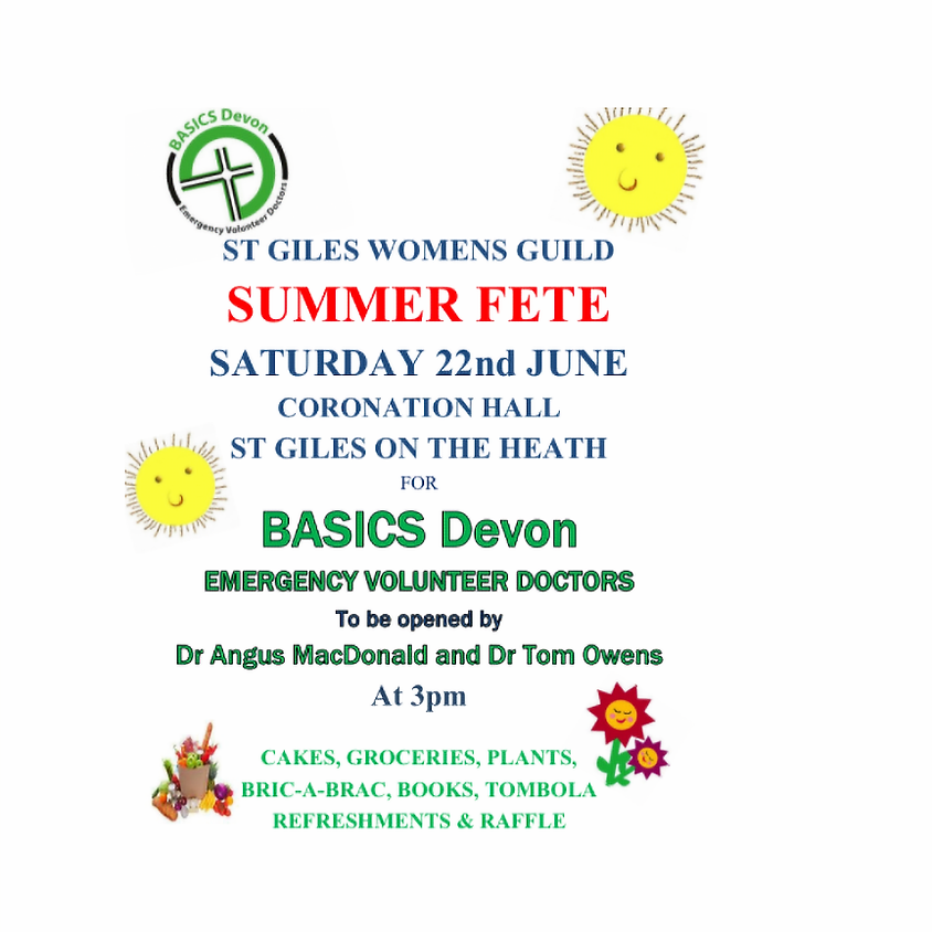 Summer Fete, St Giles Womens Guild