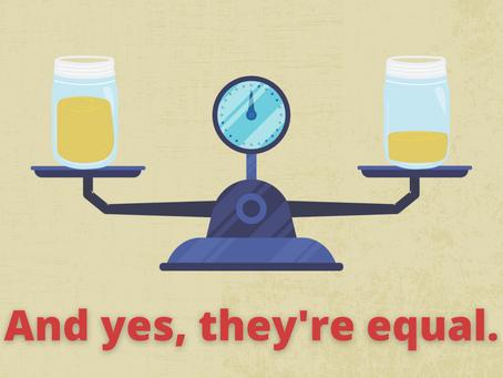 Weight vs Volume: Wait … What?