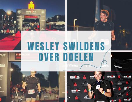 Wesley Swildens over Doelen