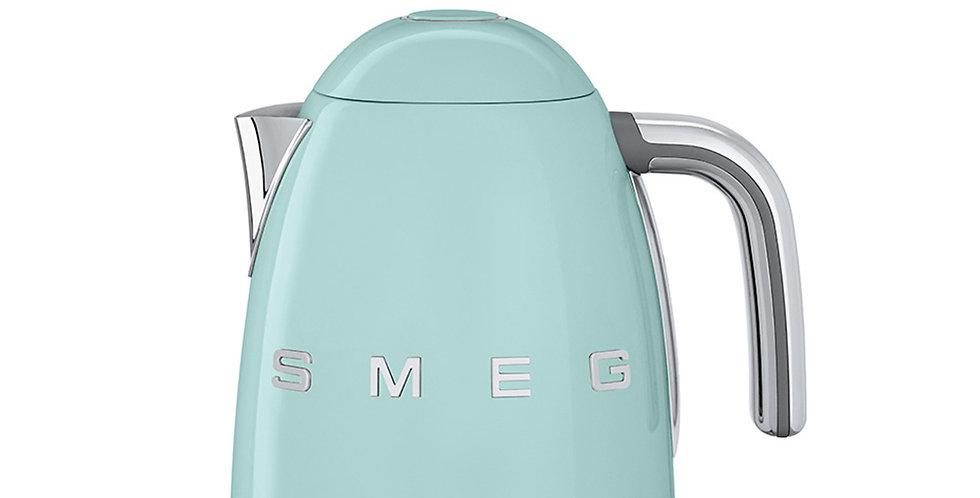 bouilloire thermostatique variable vert d'eau smeg