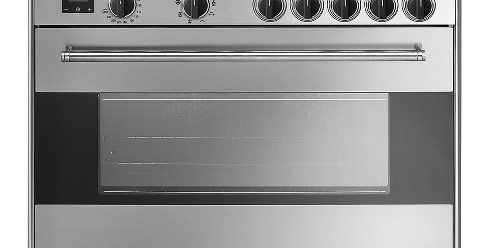 CONCERTO BG91IX9-1 90cm Inox INDUCTION