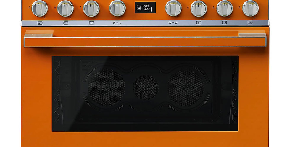 PORTOFINO CPF9GMOR 90cm Orange GAZ