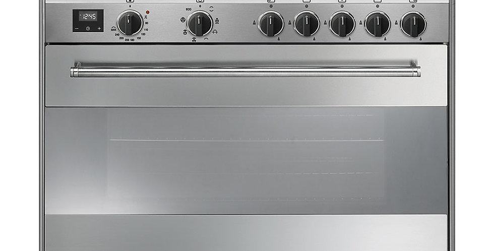 CONCERTO BG91CTX9-1 90cm Inox GAZ