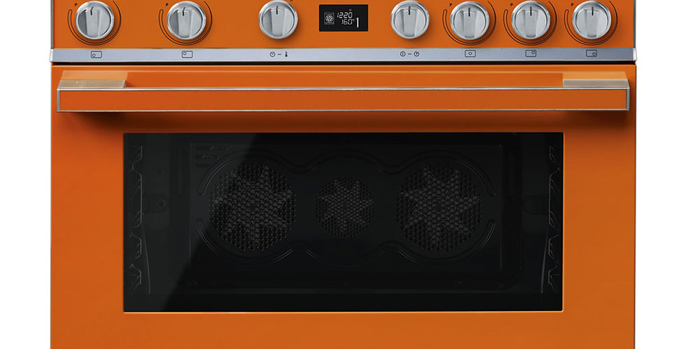 PORTOFINO CPF9IPOR 90cm Orange INDUCTION PYROLYSE