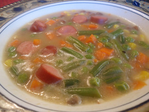 What Hot Dog Soup