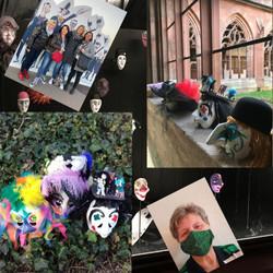 Maskierungen aller Art