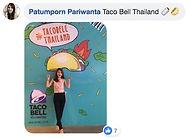 Fan post Taco Bell