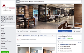 Marriott Marquis Bangkok Facebook Page