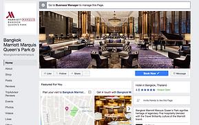 Marriott Marquis Hotel Facebook page
