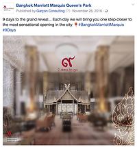 Bangkok Marriott Marquis Social Media