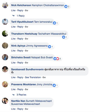 Social Media comments