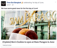 Time Out Bangkok Ben's Cookies
