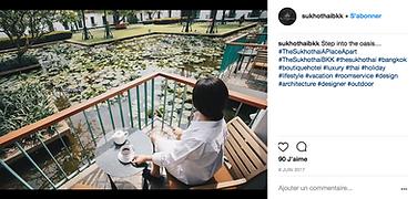 The Sukhothai Bangkok Instagram