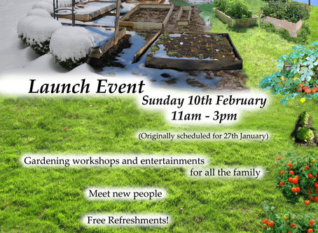 Community Garden Launch Day!
