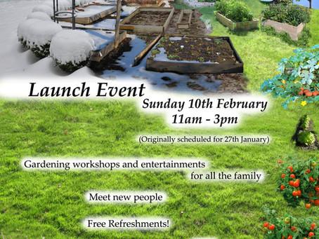 Community Garden Launch Day!