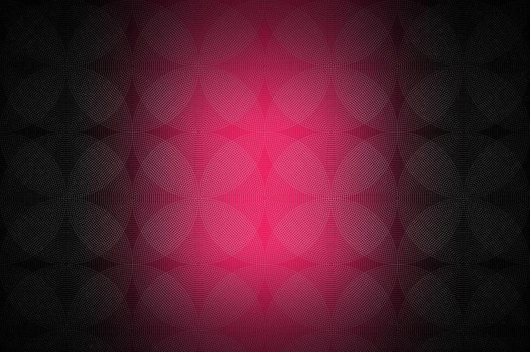 Pink & Black Circles