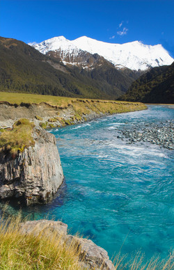 Matukituki Valley by Paul Zabodal