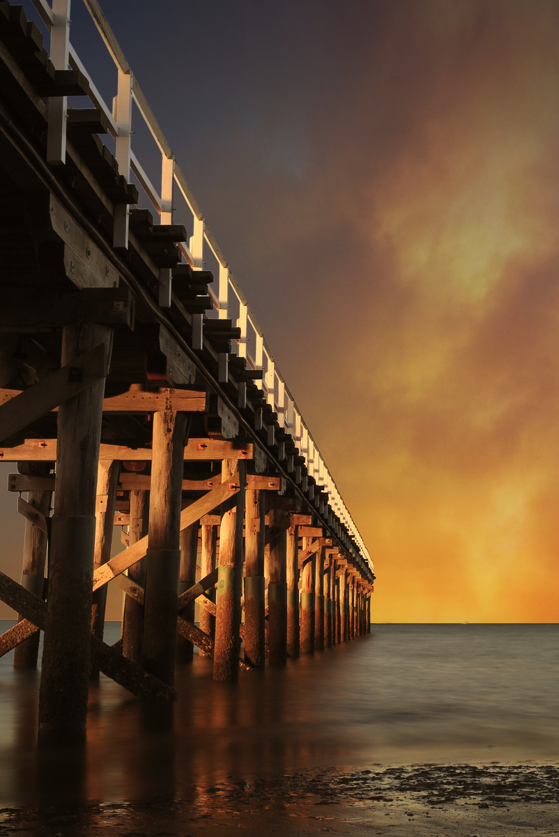 Urangan Pier by Paul Zabodal