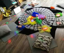 Lots of added sensory toys in todays mas