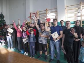 В Духовно-просветительском центре состоялся турнир по настольному теннису