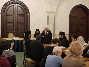 В рамках обсуждения образовательной деятельности Церкви обсудили православную культуру в современной