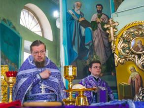 В селе Енотаевка совершено архиерейское богослужение