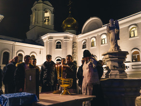 Праздник Крещения Господня встретили в Ахтубинске