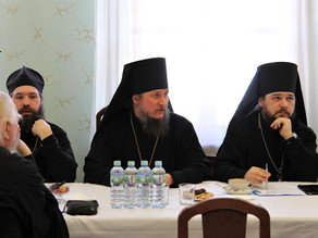 Епископ Ахтубинский и Енотаевский Антоний принял участие в заседании комиссии Межсоборного присутств