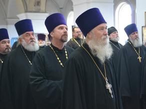 Состоялось годовое собрание духовенства и мирян Ахтубинской епархии