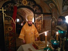 В день своего тезоименитства епископ Ахтубинский и Енотаевский Антоний совершил Божественную литурги