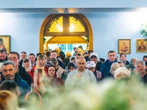 В праздник Рождества Христова епископ Ахтубинский и Енотаевский Антоний совершил Божественную литург