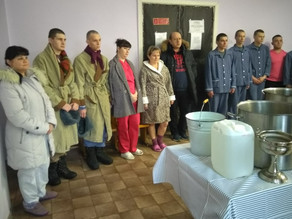 В Крещенский сочельник епископ Антоний посетил Знаменск
