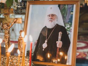 Состоялась поминальная Литургия и панихида по митрополиту Ионе (Карпухину)