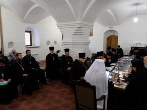 В Астрахани прошло заседание Архиерейского совета Астраханской митрополии