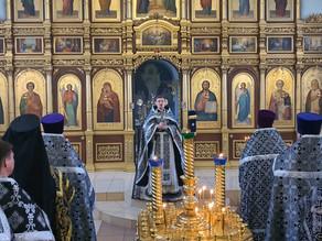 Соборное богослужение Ахтубинского благочиния