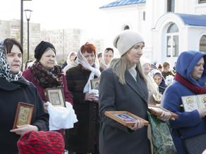 В Неделю Торжества Православия в Ахтубинске прошел Крестный ход