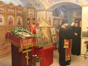 В Ахтубинскую епархию принесена главная икона РВСН