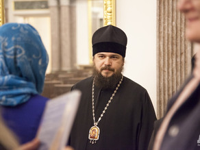 В Астрахани прошла встреча семейных пар клириков с епископом Орехово-Зуевским Пантелеимоном
