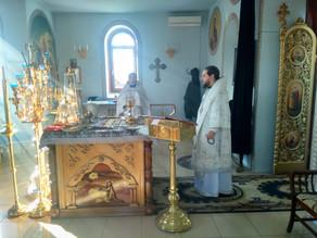 В родительскую субботу епископ Ахтубинский и Енотаевский Антоний совершил заупокойные богослужения в