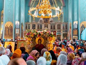 В селе Никольское состоялись торжества в честь иконы Божией Матери Нерушимая стена и 120-летия освящ