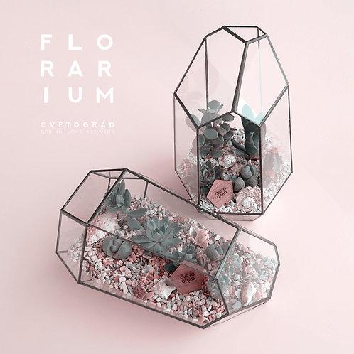 FLORARIUM pink