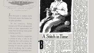 HERS; A Stitch in Time