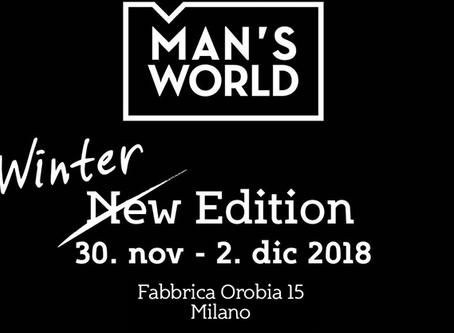 MAN'S WORLD, IL BOUTIQUE EVENT DEDICATO ALL'UOMO
