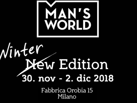 MAN'S WORLD, IL BOUTIQUE EVENT DEDICATO ALL'UOMO