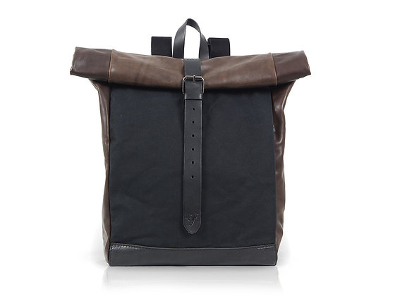 Urban Backpack Large - Black & Brown