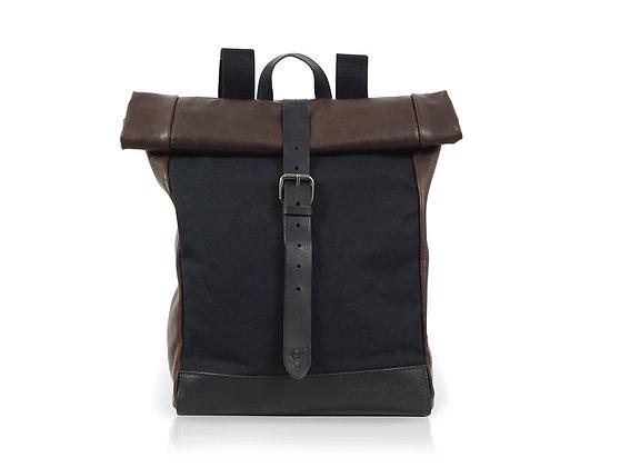Urban Backpack Medium - Black & Brown