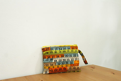 Measuring Tape Zippered Pouch