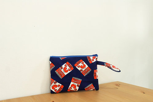 Blue Tomato Zippered Pouch